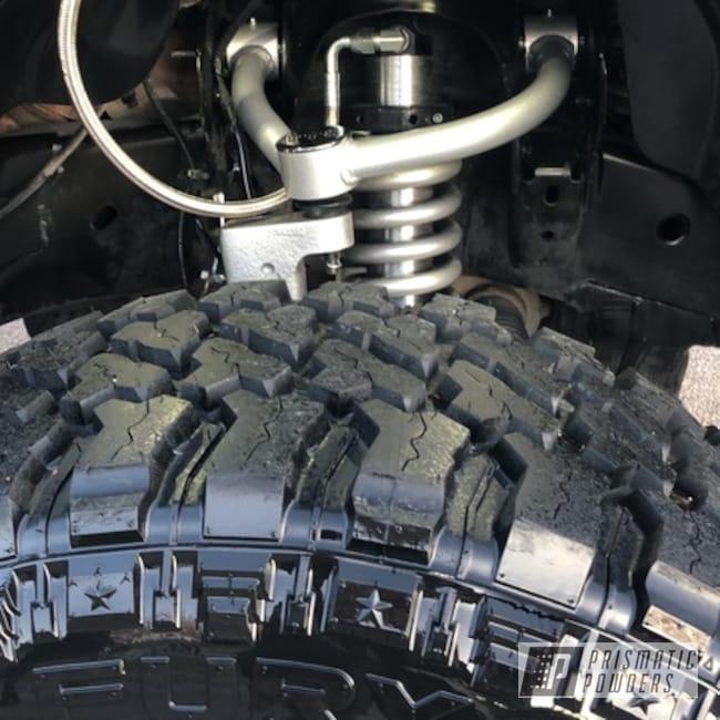 Powder Coating: Automotive,Alien Silver PMS-2569,Ford,F150,Suspension