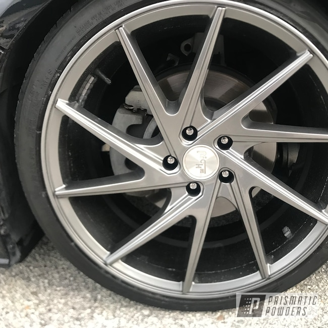 "Powder Coating: CVR Powdercoating,Niche Wheels,Ultra Charcoal PMB-5531,20"" Wheels"