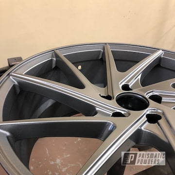 Powder Coated Cvr Powdercoating Niche Wheels