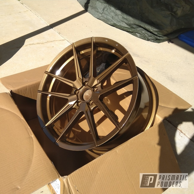"Powder Coating: Wheels,Clear Vision PPS-2974,20"",Ford Mustang,Highland Bronze PMB-5860,Ford,Mustang,20"" Wheels,Ambit FC10"