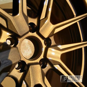 Powder Coated 20 Inch Ford Mustang Wheels In Pps-2974 And Pmb-5860