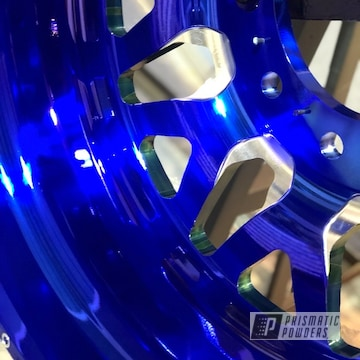 Powder Coated Blue American Force Truck Wheels