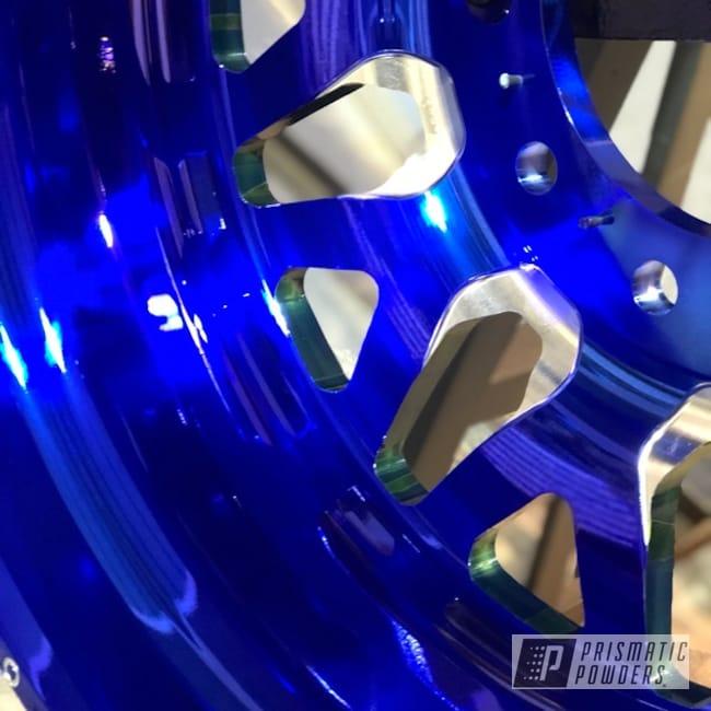 Powder Coating: Wheels,Monster Truck,Forged,Aluminium Wheels,Aluminum Rims,Quake,LOLLYPOP BLUE UPS-2502,Satin Aluminum,American Force