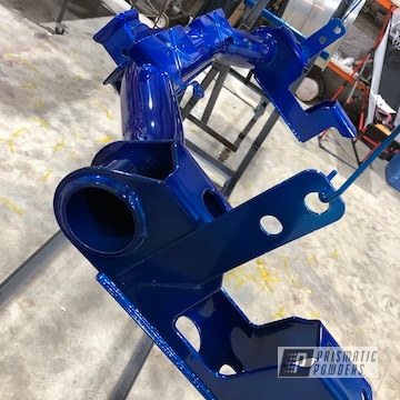 Powder Coated Blue Chevrolet Gmc Suspension Parts