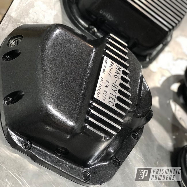 Powder Coating: Automotive,Differential Cover,coil springs,Mag Hytec,Cadillac Grey PMB-6377