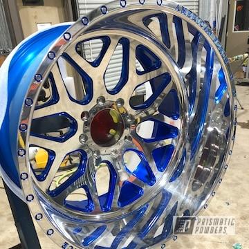 Powder Coated Blue American Force Wheels