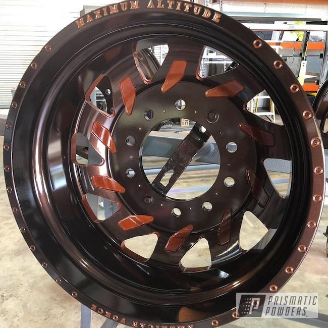 Powder Coating: Wheels,Automotive,Clear Vision PPS-2974,Custom Wheels,American Force Psycho,American Force,Misty Rootbeer PMB-1081,Illusion Rootbeer PMB-6924