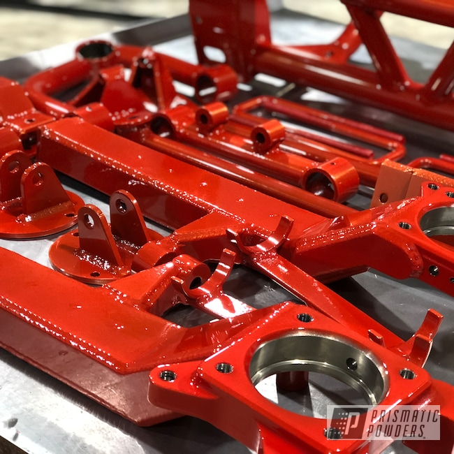 Powder Coating: Automotive,Clear Vision PPS-2974,Glazed Gold PPB-5156,liftkit,Lift Kit,Toyota,Bullet Proof Lift,Astatic Red PSS-1738,Suspension