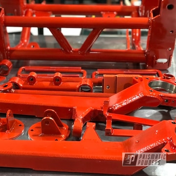 Red Powder Coated Toyota Lift Kit