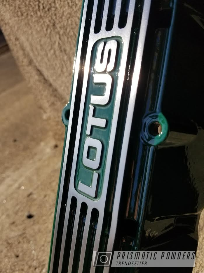 Powder Coating: Automotive,Clear Vision PPS-2974,Green Dot PSS-4321,Lotus,Valve Cover