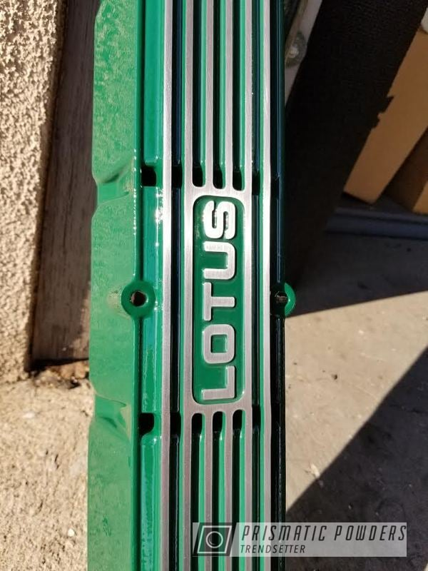 Powder Coated Lotus Valve Cover