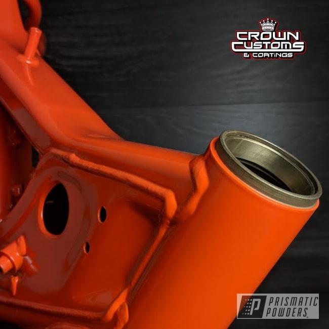 Powder Coating: RAL 2009 Traffic Orange,Bike Frame,Motorcycles,Frame,Dirt Bike