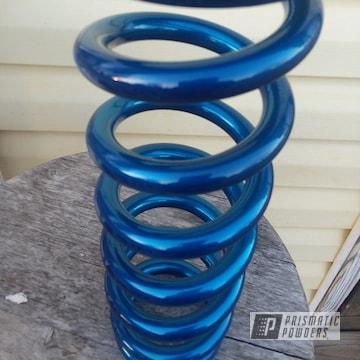 Powder Coated Light Blue Shock