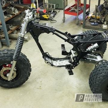 Powder Coated Honda Atc 350x