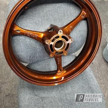 Powder Coated Gsxr Suzuki 17 Inch Wheels