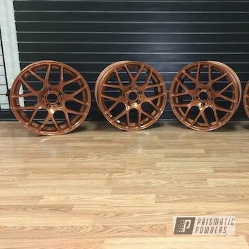 Powder Coated Copper Wheels
