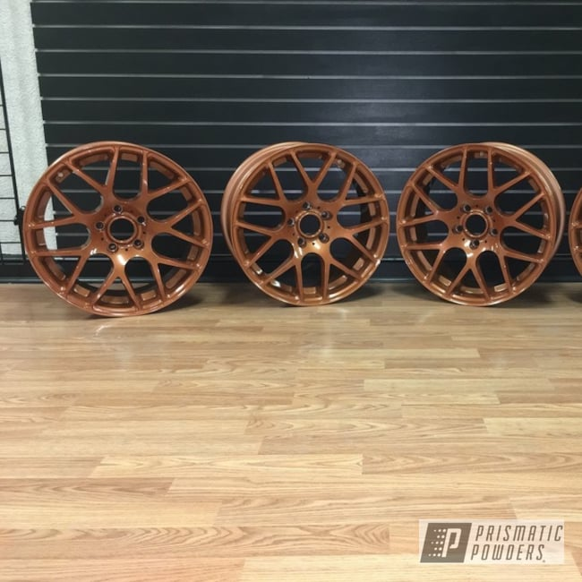 Powder Coating: Wheels,Automotive,Copper Coin PPB-7009