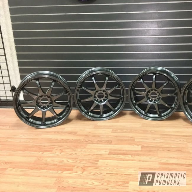 Powder Coating: Wheels,Automotive,Misty Lava PMB-4217