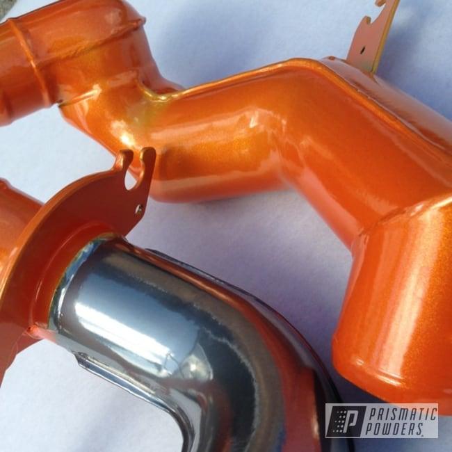 Powder Coating: Automotive,SUPER CHROME USS-4482,RB26,Honda,Illusion Orange PMS-4620