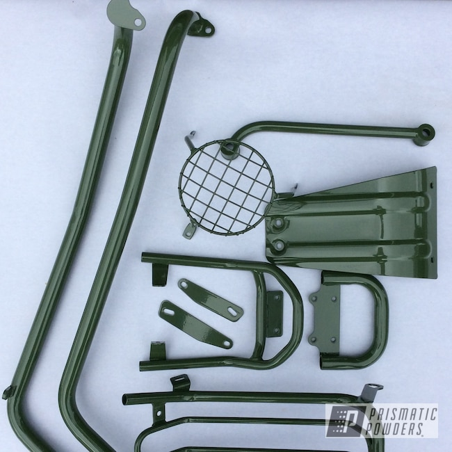 Powder Coating: Airplane,Super Cub,Pea Green PSS-4552