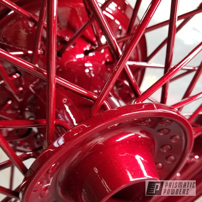 "Powder Coating: Shadow 750 Ace,15"",Clear Vision PPS-2974,Honda,17"" Wheels,Illusion Cherry PMB-6905,Motorcycles"