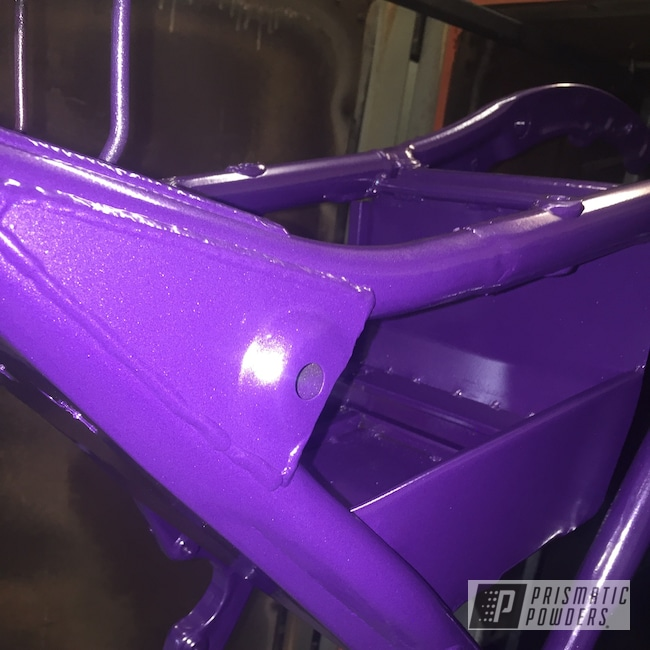 Powder Coating: Harley Davidson,Motorcycle Frame,Motorcycles,Alex the Grape PMB-3082