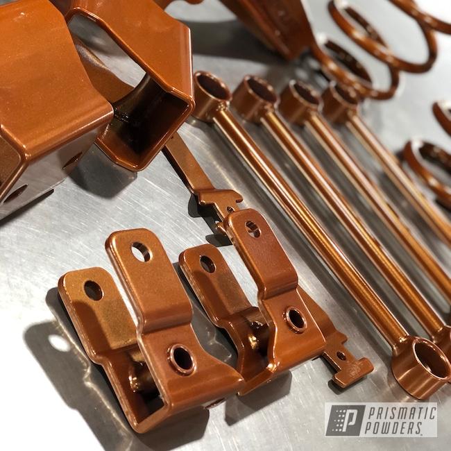 Powder Coating: Automotive,liftkit,Lift Kit,Jeep,Jeep Coil Springs,Tangy Tangelo PPB-2498,Sparkle Burgundy PMB-2698