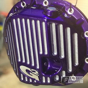Powder Coated Purple Differential Cover