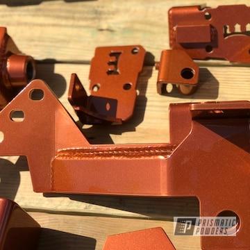 Powder Coated Rust Ford F250 Lift Kit
