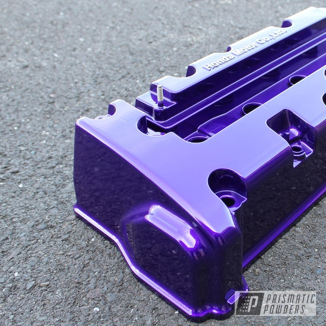 Powder Coating: Illusion Purple PSB-4629,Automotive,Acura RSX,Clear Vision PPS-2974,Civic,Honda,Acura,Vtec,Honda Civic,RSX,DOHC,k20