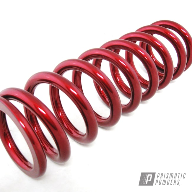 Powder Coating: SUPER CHROME USS-4482,LOLLYPOP RED UPS-1506,Coil Spring,Suspension