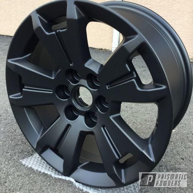 Powder Coating: Wheels,Automotive,BLACK JACK USS-1522