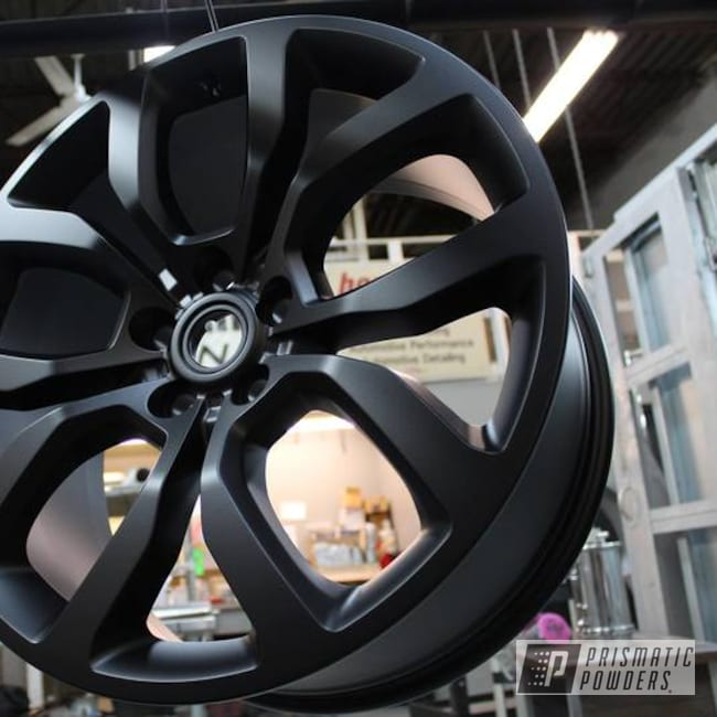 Powder Coating: Wheels,Automotive,BLACK JACK USS-1522