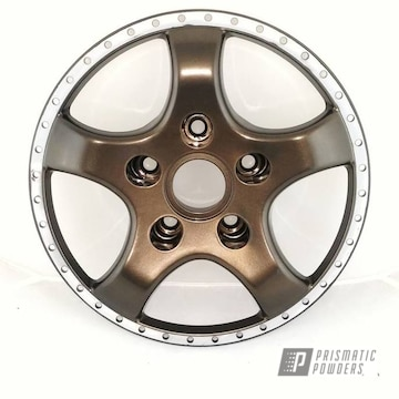 Powder Coated Bronze Two Piece Wheel