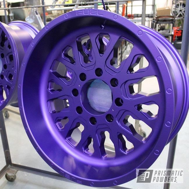 Powder Coating: Illusion Purple PSB-4629,Wheels,Automotive,Forged Wheels,Custom Powder Coated Rims,Fuel Wheels,Casper Clear PPS-4005