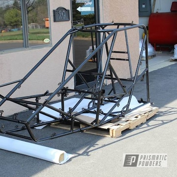 Powder Coated Black Dirt Track Frame