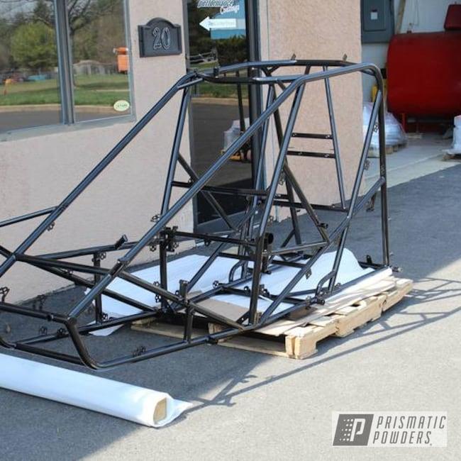 Powder Coating: Powder Coated Frame,Ink Black PSS-0106,Off-Road,Dirt Track Frame