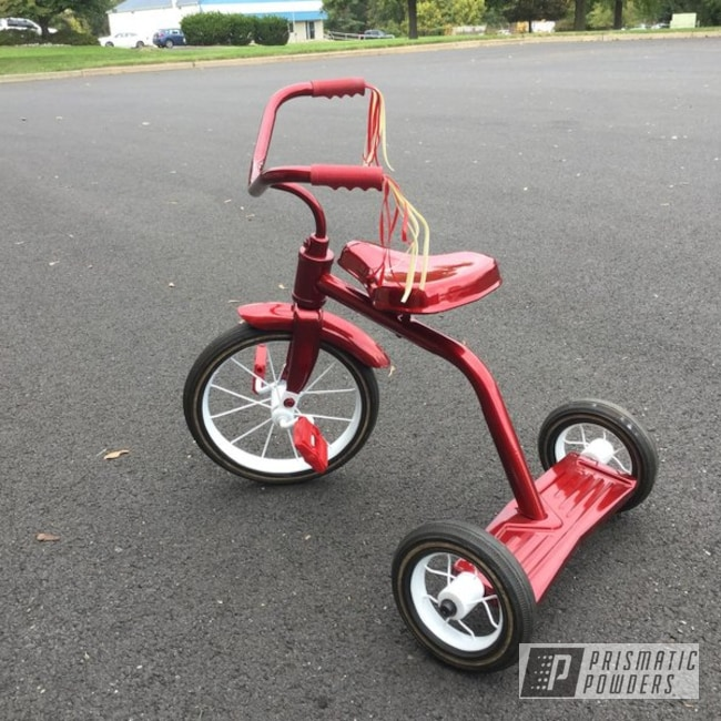 Powder Coating: SUPER CHROME USS-4482,LOLLYPOP RED UPS-1506,Kids Toys,Tricycle