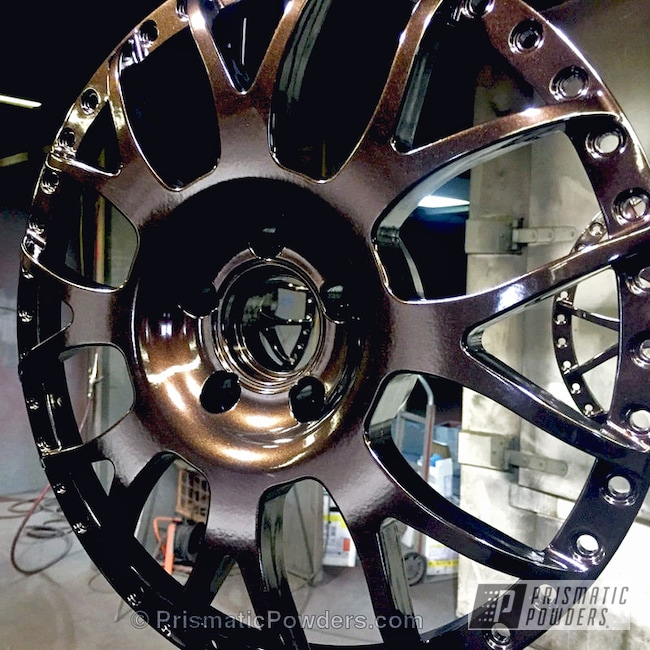 Wheel Center Done In Lazer Rootbeer