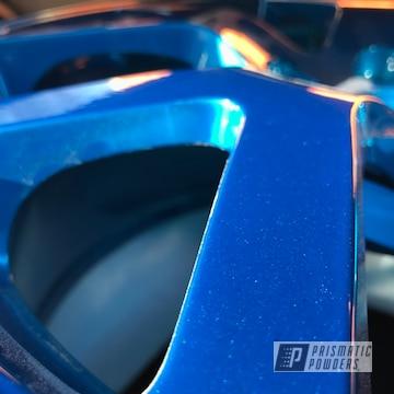 Powder Coated Blue 2006 Nissan Altima Se-r Forged Wheels