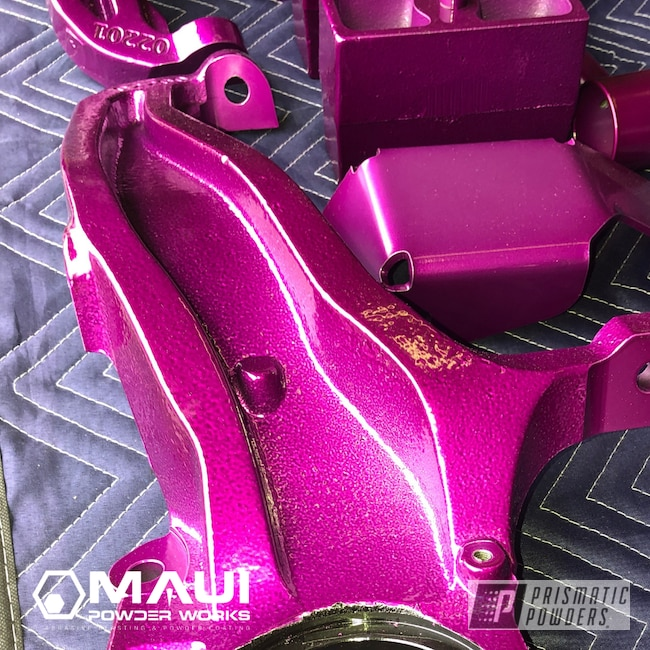 Powder Coating: Automotive,Lift Kit,ANODIZED GRAPE UPB-1510,Suspension
