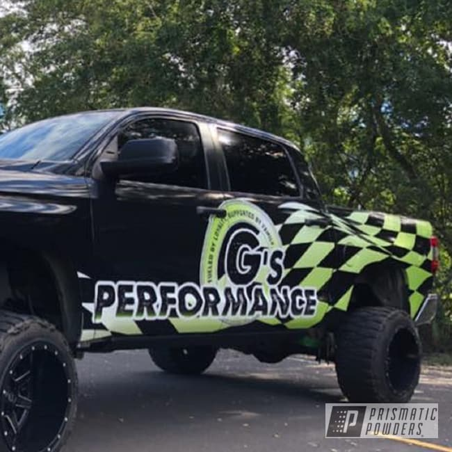 Powder Coating: Performance,Automotive,Monster Truck,Lime,Lift Kit,Toyota,G's,Lollypop,Lollypop Lime PPS-5628,Suspension