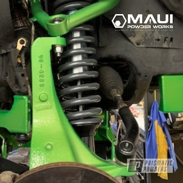 Powder Coated Green Toyota Performance Lift Kit