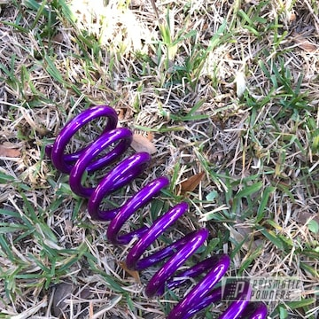 Powder Coated Candy Purple Rear Motorcycle Shock