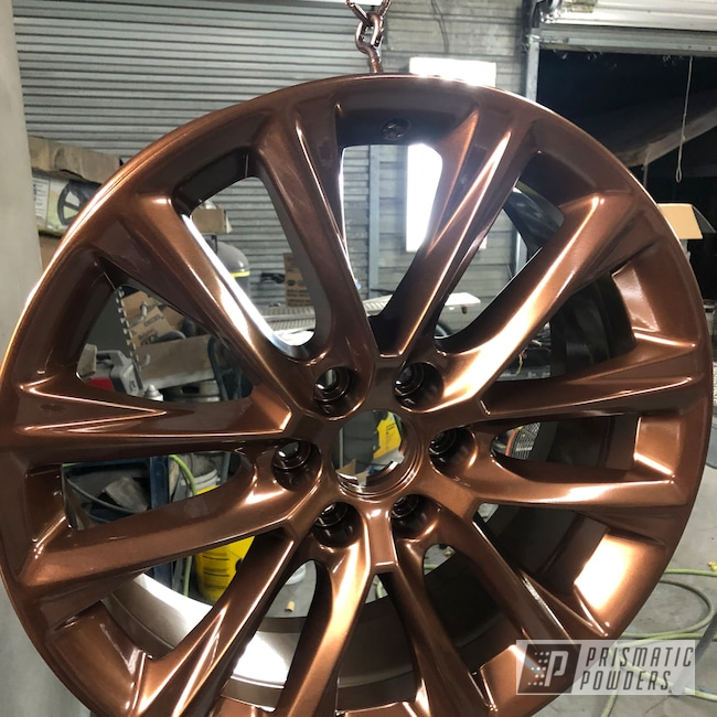 "Powder Coating: Wheels,Burnt Rootbeer PMB-8169,Automotive,Escalade,20"",Cadillac,20"" Wheels"