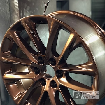 Powder Coated Bronze 20 Inch Cadillac Escalade Wheels