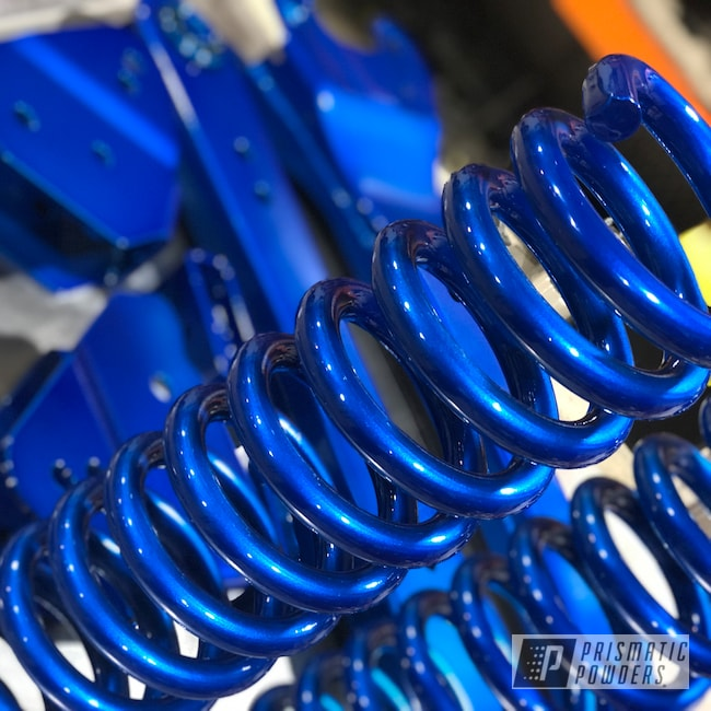 Powder Coating: Peeka Blue PPS-4351,Lift Kit,Alien Silver PMS-2569,Ford,Suspension