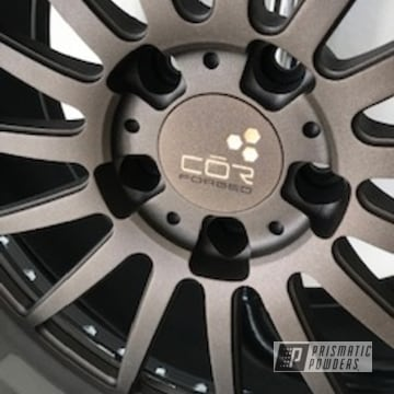 Powder Coated Bronze Aluminum Wheels
