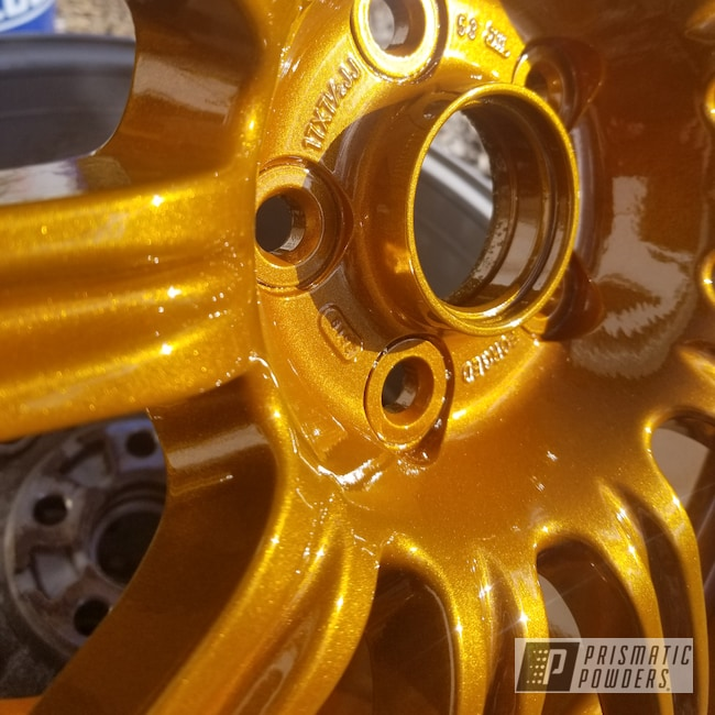 "Powder Coating: Wheels,Automotive,Clear Vision PPS-2974,Illusion Spanish Fly PMB-6920,17s,17"" Wheels,BBS"