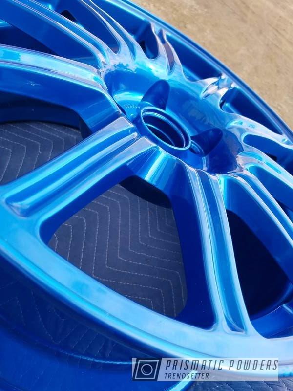 Powder Coated Blue Rockin Rims